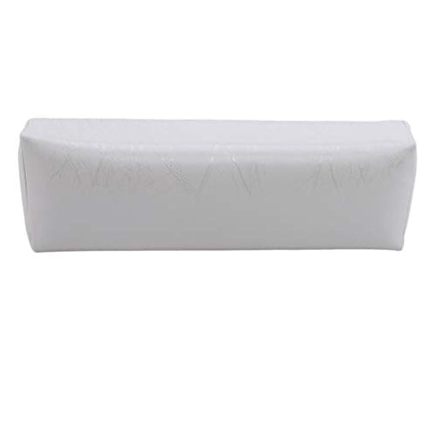 ミトン熟読する感情HKUN プロのネイルアートツール ケアツール 洗える 手枕クッション ネイルアートホルダー ソフトアームレスト用 ネイルケア用 マニキュアネイル用品 白色