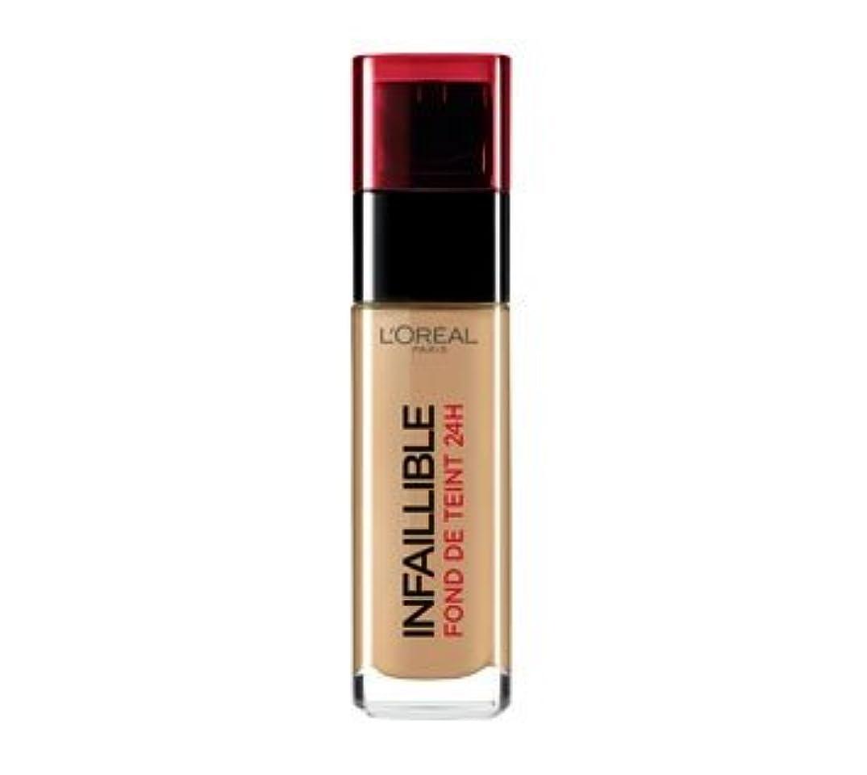 補助不変おめでとうL 'Oréal Paris - Infaillible 24h 300 Ambre - Grundierung