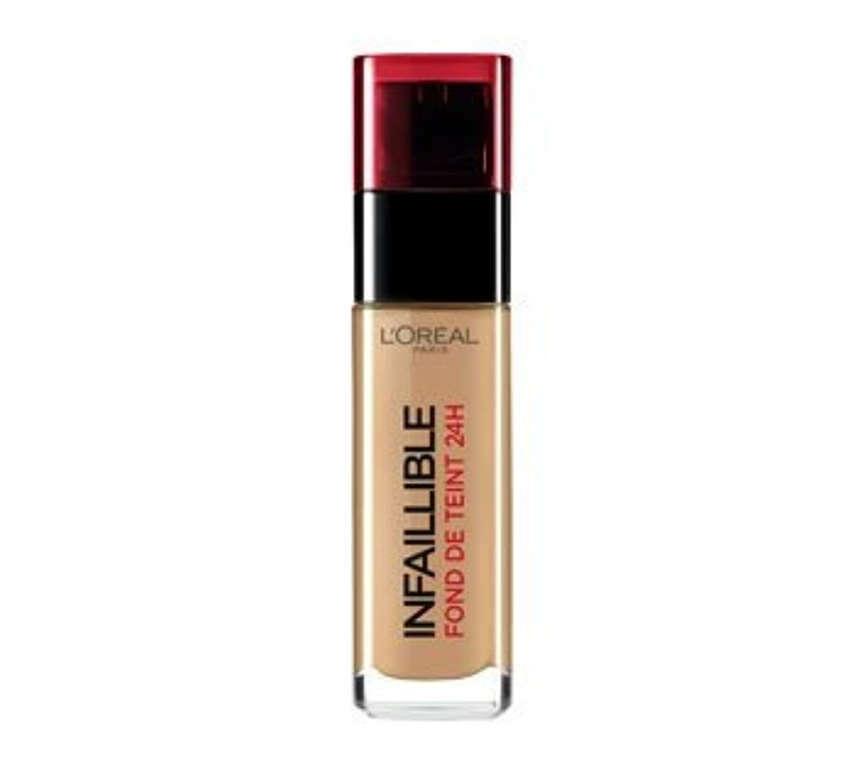 刃力強い直接L 'Oréal Paris - Infaillible 24h 300 Ambre - Grundierung