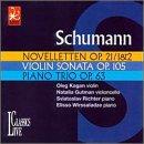 Noveletten Op.21 / Sta Op.105 / P Trio Op.63