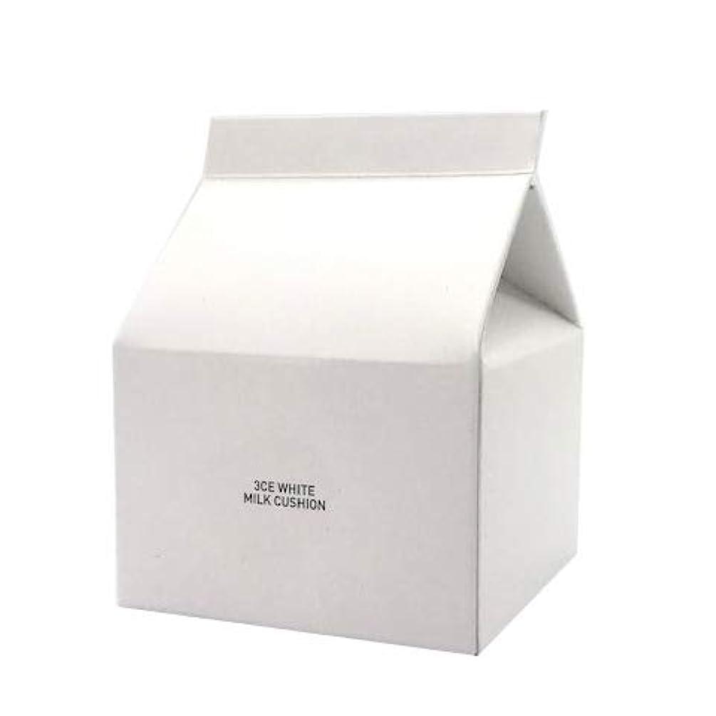 引用寝てる八スタイルナンダ 3CE ホワイトミルククッション SPF50+ PA+++ 15g [並行輸入品]