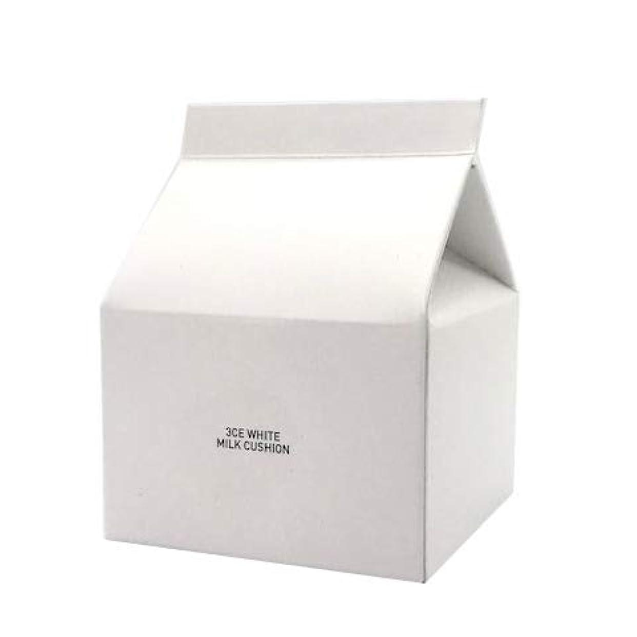 ピーブ魅力れんがスタイルナンダ 3CE ホワイトミルククッション SPF50+ PA+++ 15g [並行輸入品]