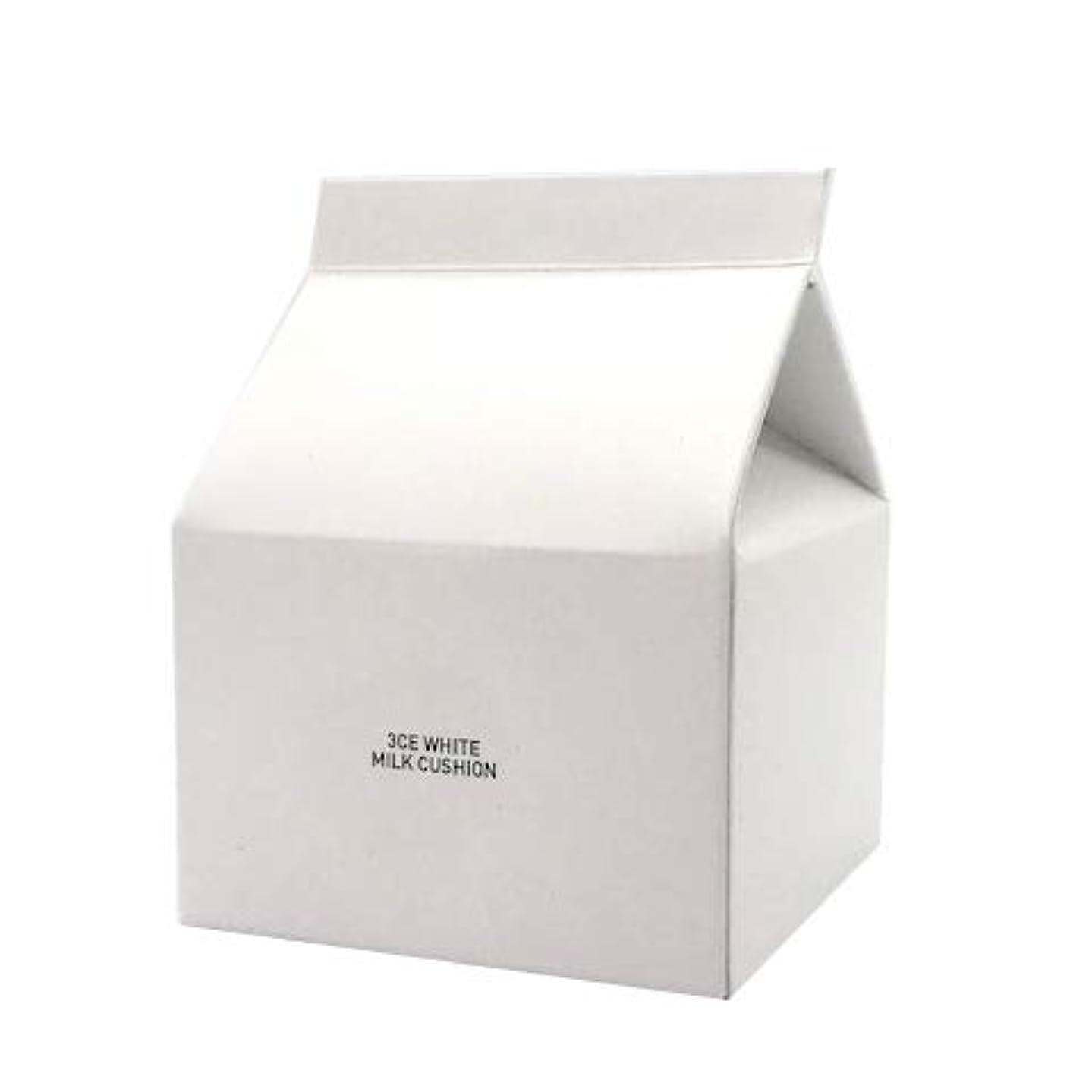 それぞれ経済的美しいスタイルナンダ 3CE ホワイトミルククッション SPF50+ PA+++ 15g [並行輸入品]