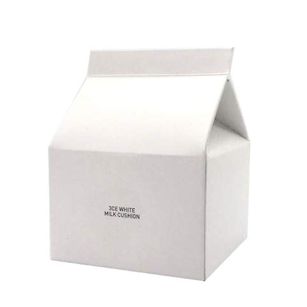 類似性リスキーなダルセットスタイルナンダ 3CE ホワイトミルククッション SPF50+ PA+++ 15g [並行輸入品]