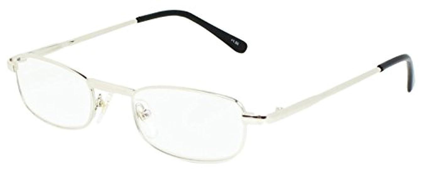 藤田光学 老眼鏡 メンズ +1.5 度数 プレミアムライン メタルフレーム ゴールド FK-170+1.50