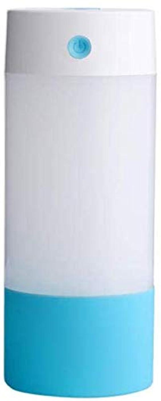 スケート標準コンソールSOTCE アロマディフューザー加湿器超音波霧化技術のライトカー満足のいく解決策美しい装飾湿潤環境 (Color : Blue)