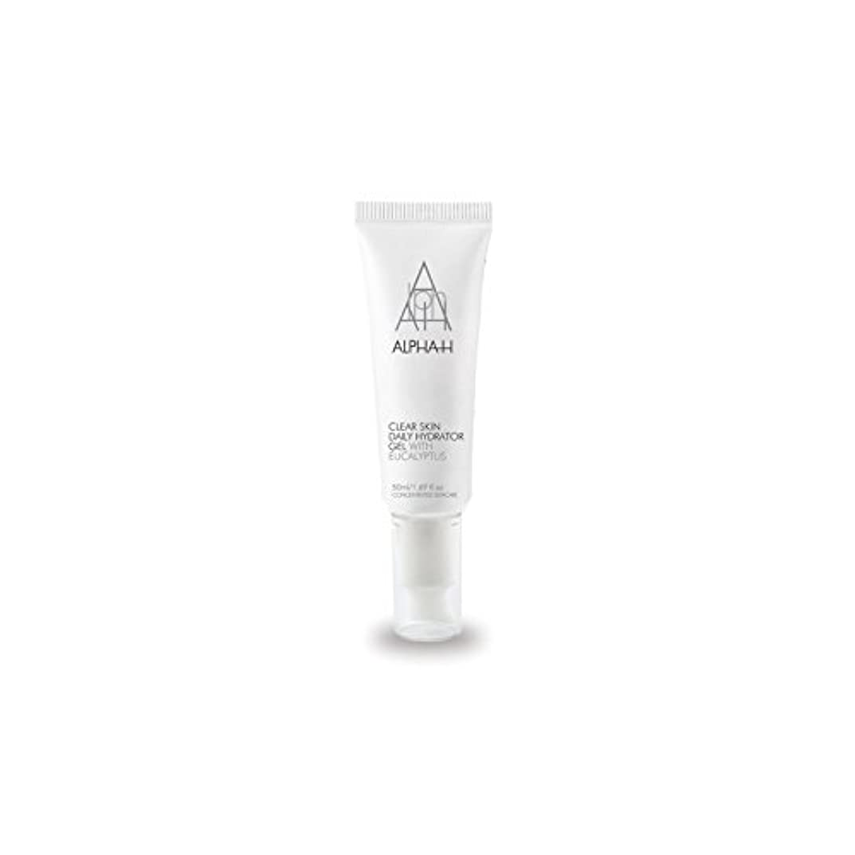 不合格南ペアAlpha-H Clear Skin Daily Hydrator Gel (50ml) (Pack of 6) - アルファクリア皮膚毎日ハイドレーターゲル(50)中 x6 [並行輸入品]