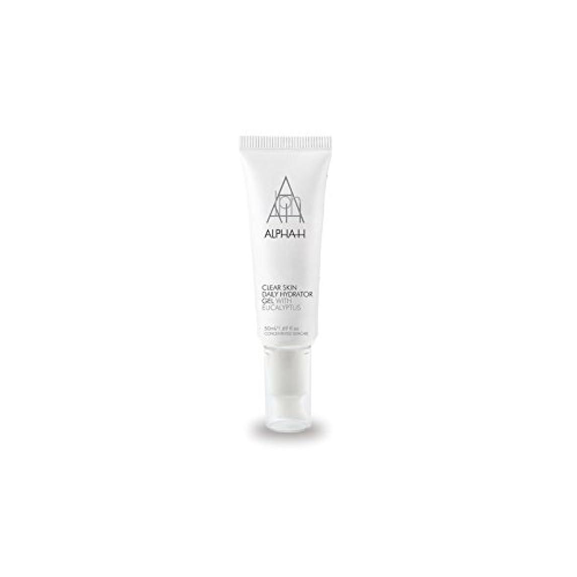 学生持つ青アルファクリア皮膚毎日ハイドレーターゲル(50)中 x4 - Alpha-H Clear Skin Daily Hydrator Gel (50ml) (Pack of 4) [並行輸入品]