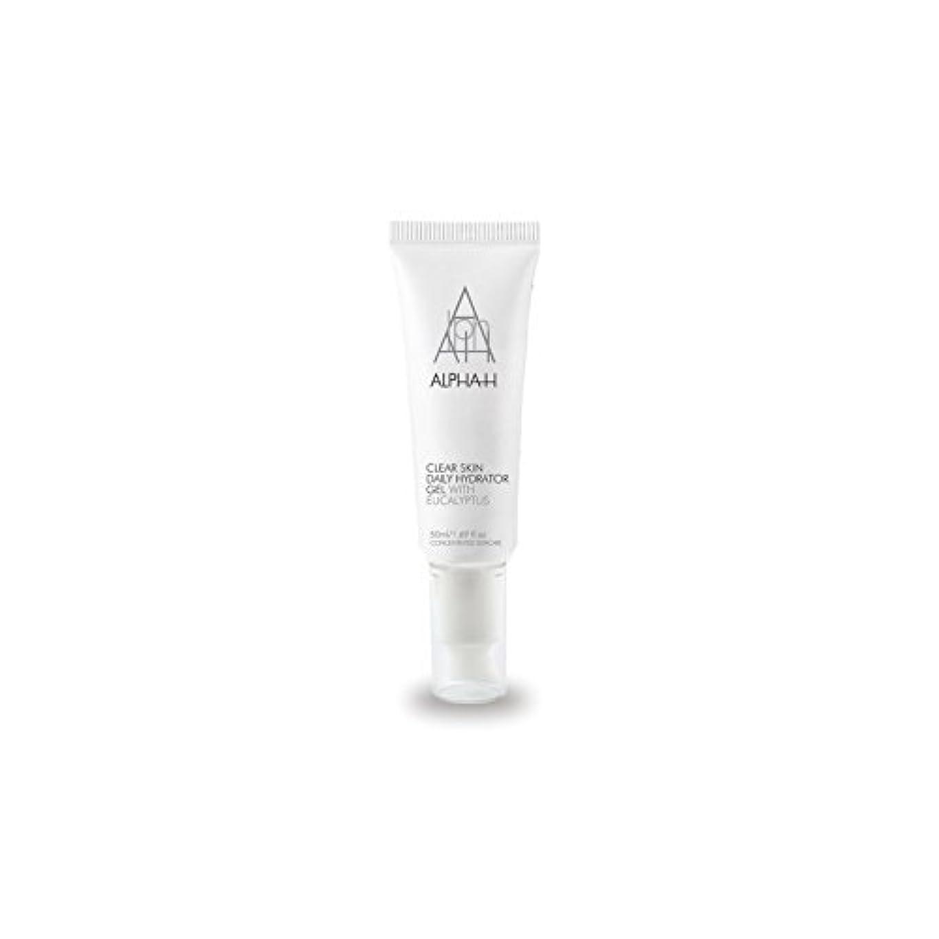 四政治的エアコンアルファクリア皮膚毎日ハイドレーターゲル(50)中 x4 - Alpha-H Clear Skin Daily Hydrator Gel (50ml) (Pack of 4) [並行輸入品]