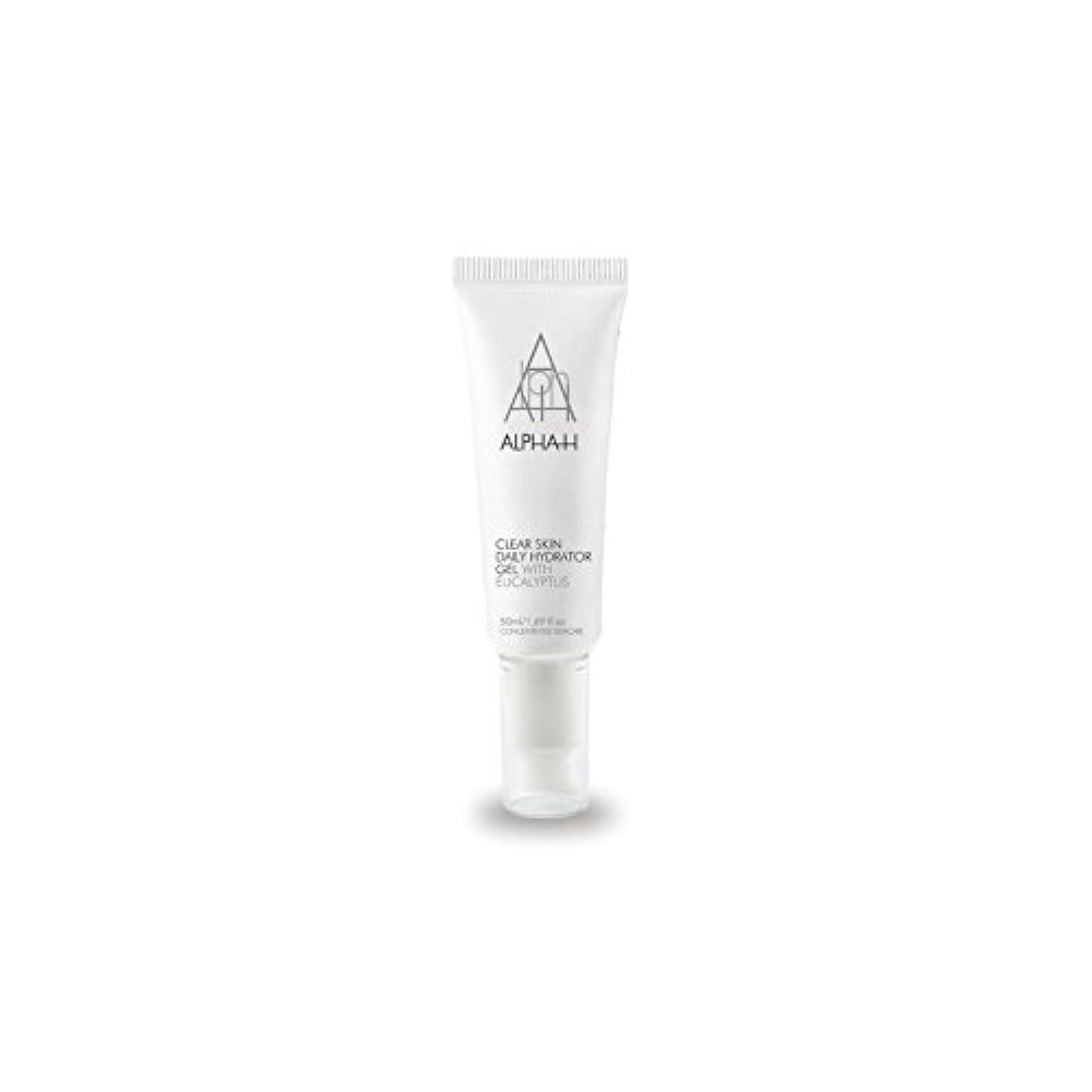 迫害する留まる協同Alpha-H Clear Skin Daily Hydrator Gel (50ml) - アルファクリア皮膚毎日ハイドレーターゲル(50)中 [並行輸入品]