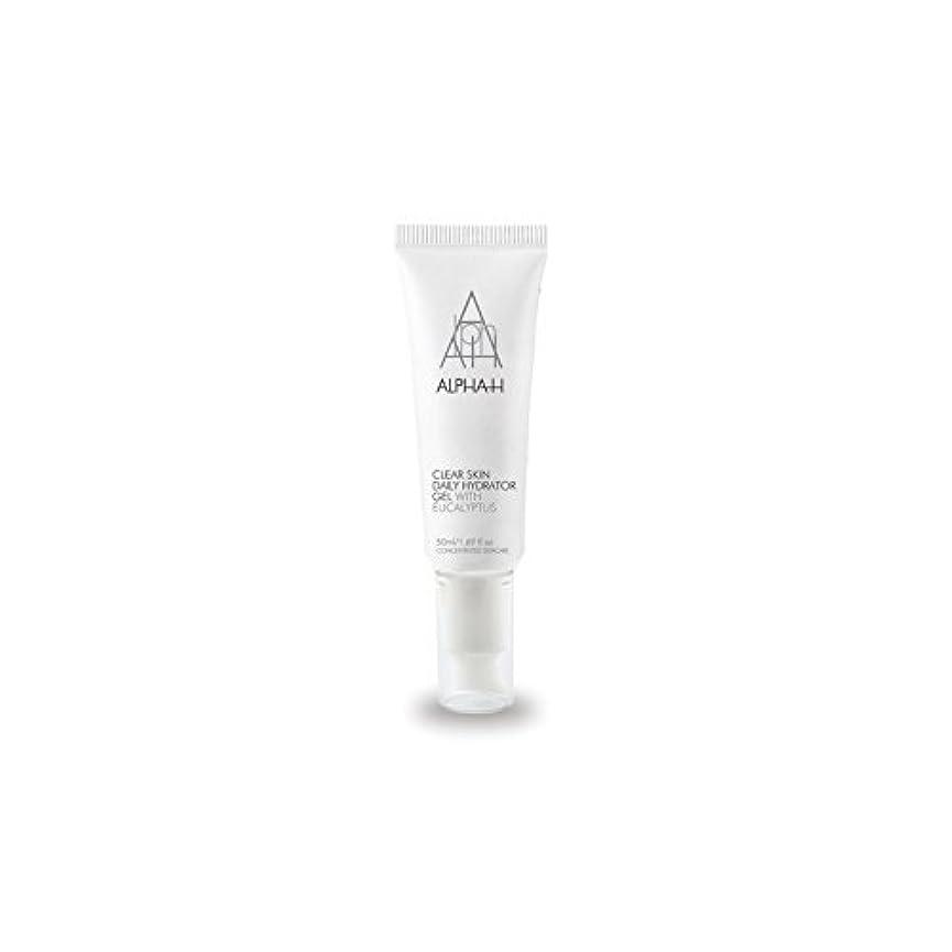 苗歯痛ボイコットアルファクリア皮膚毎日ハイドレーターゲル(50)中 x4 - Alpha-H Clear Skin Daily Hydrator Gel (50ml) (Pack of 4) [並行輸入品]