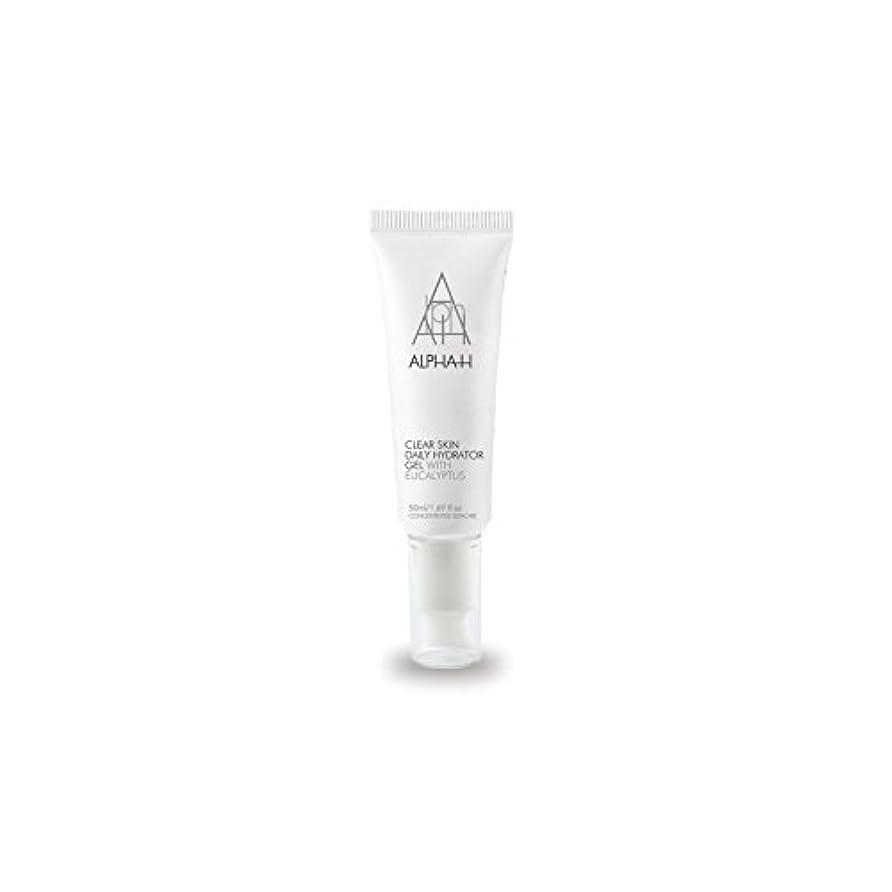 見て十分なビーズAlpha-H Clear Skin Daily Hydrator Gel (50ml) (Pack of 6) - アルファクリア皮膚毎日ハイドレーターゲル(50)中 x6 [並行輸入品]