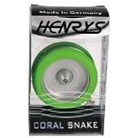 Henry's Coral Snake Yo-Yo and Book (Green) by Henrys [並行輸入品]