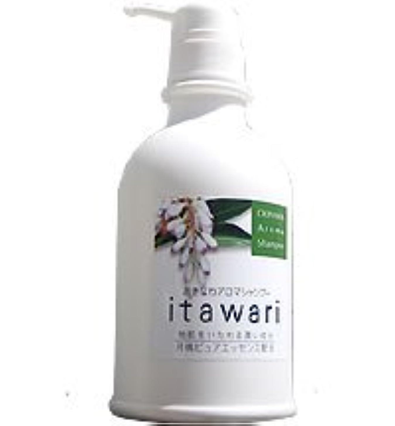 優れました冷笑するはっきりしないおきなわアロマシャンプー「itawari(いたわり)」 [500ml]
