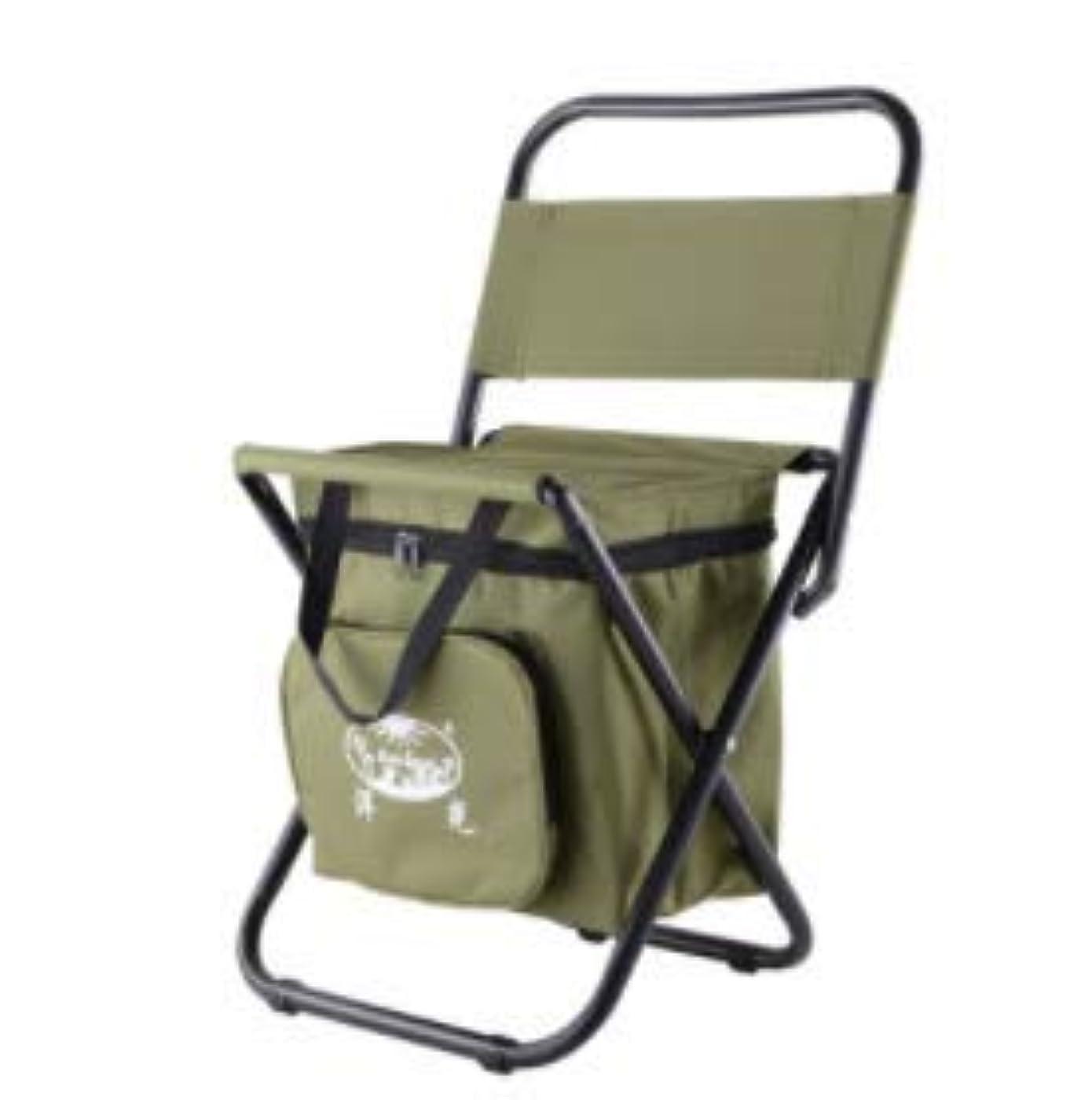 優れましたドキドキカートンHHH Oudoor 屋外折りたたみ椅子ポータブルチェア釣り自動運転ツアーシンプルなMazar多機能断熱アイスバッグスツール釣り椅子キャンプチェアレジャーチェアビーチチェアアルミ合金釣り椅子