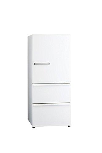 アクア 272L 3ドア冷蔵庫(ナチュラルホワイト)【右開き】...