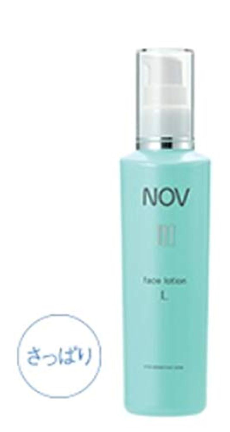 デコレーション調和消毒するNOV ノブ III フェイスローション L(さっぱり) 120mL