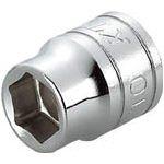 KTC(ケーテーシー) 9.5mm (3/8インチ) ソケット (六角) 24mm B324