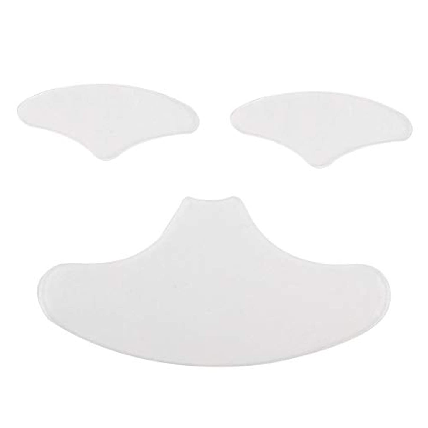 週末偽装する新しさシリコーン フェイスマスク アイマスク 顔面パッド
