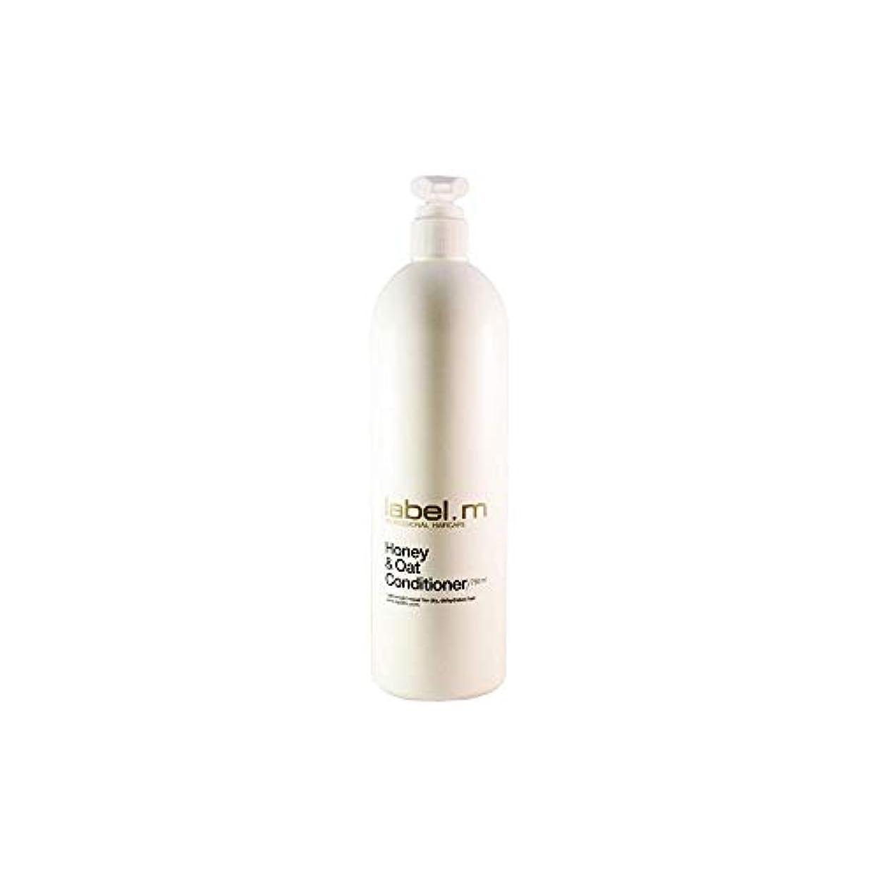 商標質素なお金Label.M Professional Haircare Label.mハチミツとオーツConditoner 25.36オンス