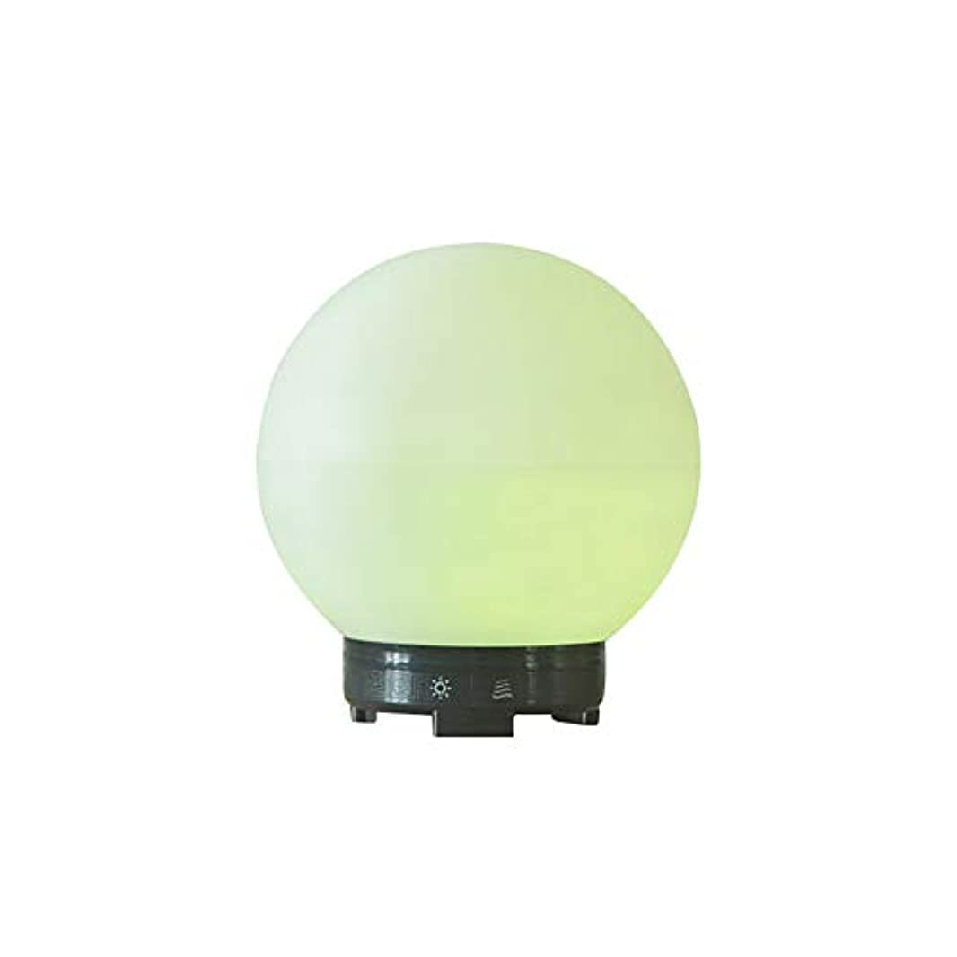 偽造哲学カプラーエッセンシャルオイルディフューザーと加湿器、ミストエッセンシャルオイルアロマ加湿器用の超音波アロマディフューザー、7色LEDライト