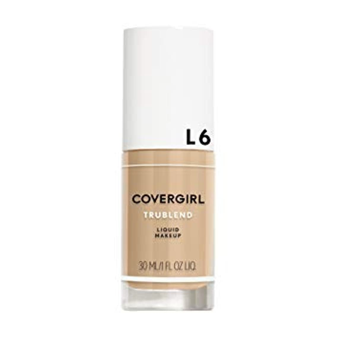 盗難ヤギ高める(6 Pack) COVERGIRL TruBlend Liquid Makeup - Buff Beige L6 (並行輸入品)