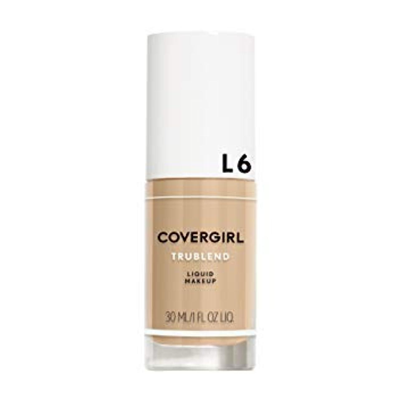 冷える特性気怠い(6 Pack) COVERGIRL TruBlend Liquid Makeup - Buff Beige L6 (並行輸入品)