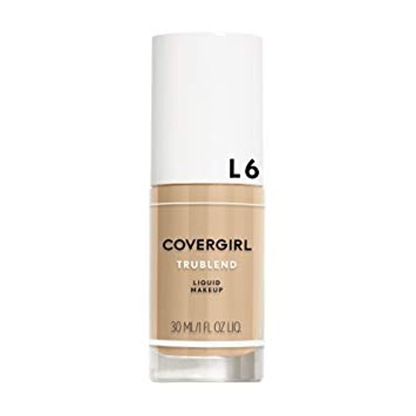 酔った傑作狼(6 Pack) COVERGIRL TruBlend Liquid Makeup - Buff Beige L6 (並行輸入品)