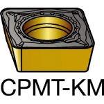 サンドビック コロターン111 旋削用ポジ・チップ H13A (10個) CPMT 06 02 04-KM H13A