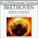Beethoven: Symphonies Nos. 1 & 7 / Wordsworth, Royal Philharmonic Orchestra