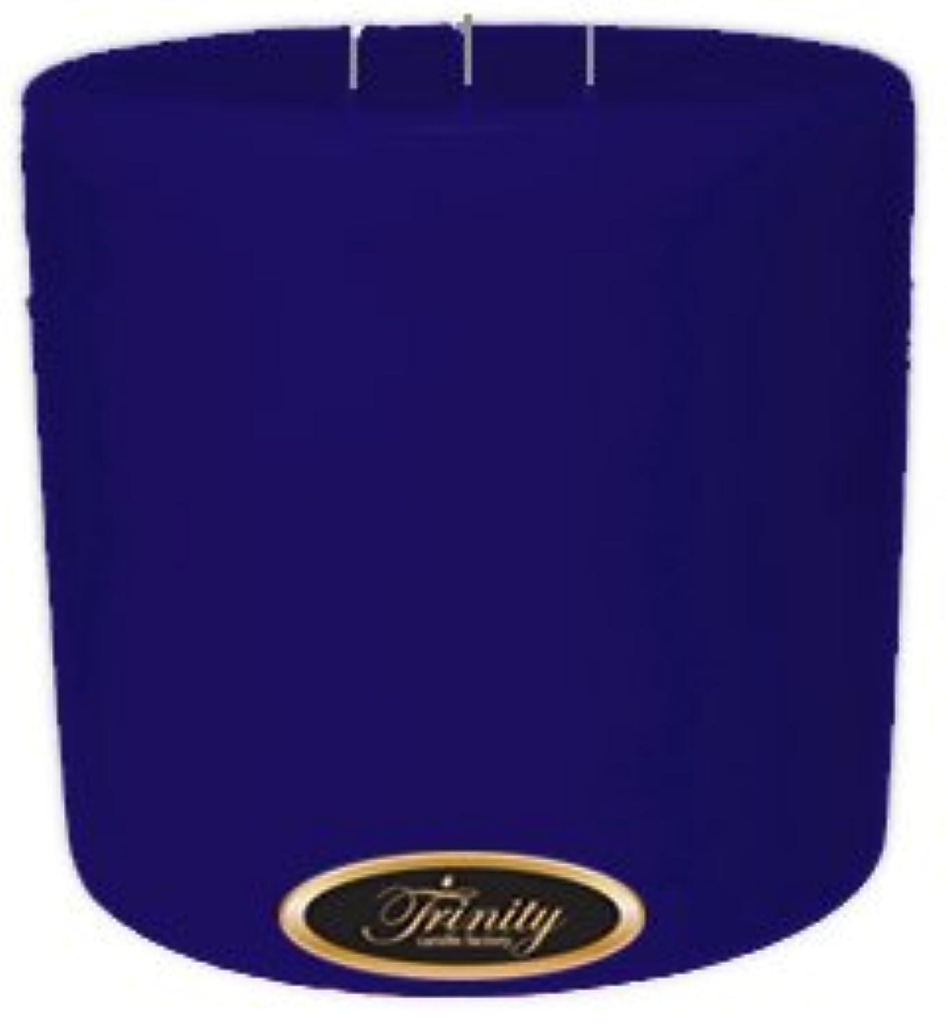 印象派感嘆踏みつけTrinity Candle工場 – Blueberry Fields – Pillar Candle – 6 x 6