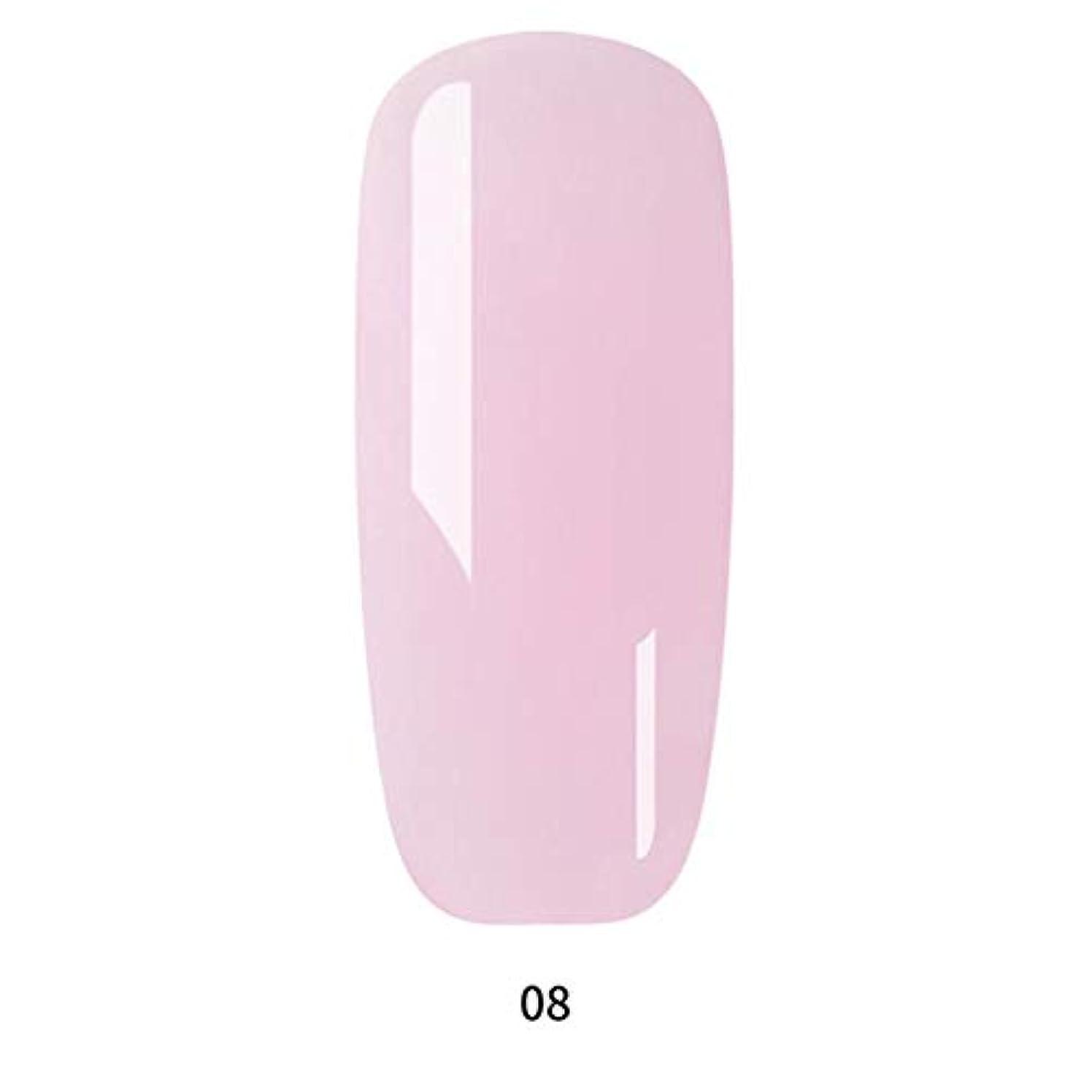 分離解読する飲み込むネイルアート ネイル接着剤 人工偽爪 ネイルジェル 爪指延長接着剤 UV延長接着剤 ティップエクステンション 9色選べる junexi