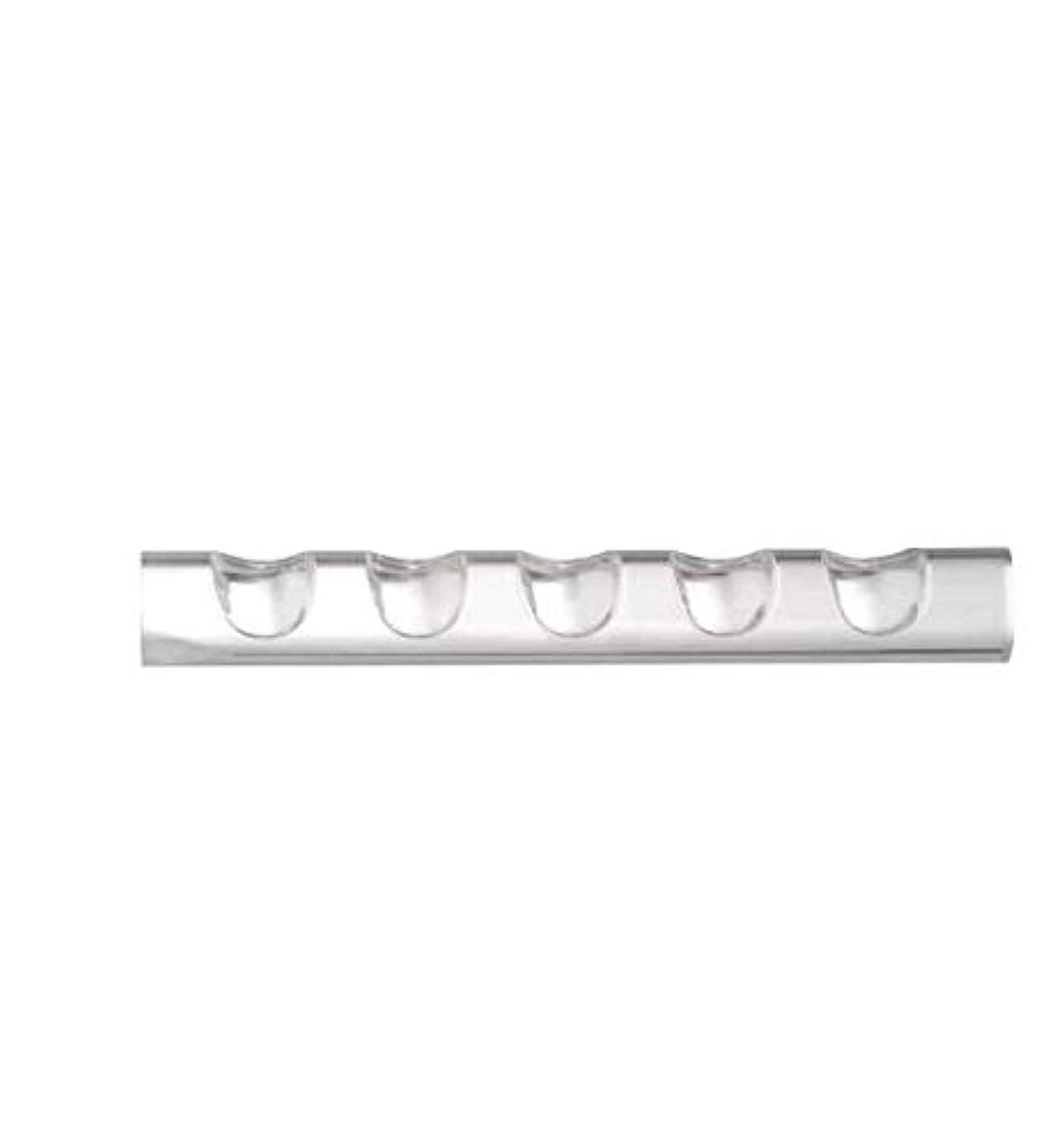 細心のルネッサンス喉頭5ネイルペンネイルブラシホルダー用ネイルツールペンブラシラッククリアアクリルスタンドホルダー