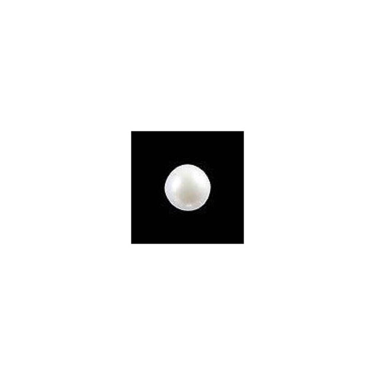 人間襟誰のピアドラ 大粒パール ラウンド(5mm)24P