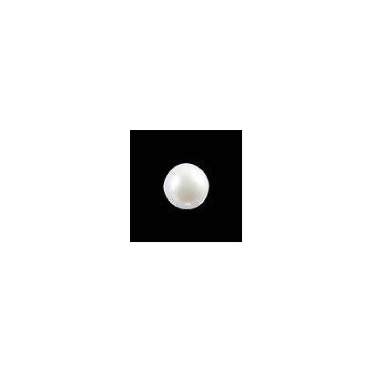 プリーツ前投薬小石ピアドラ 大粒パール ラウンド(4mm)24P