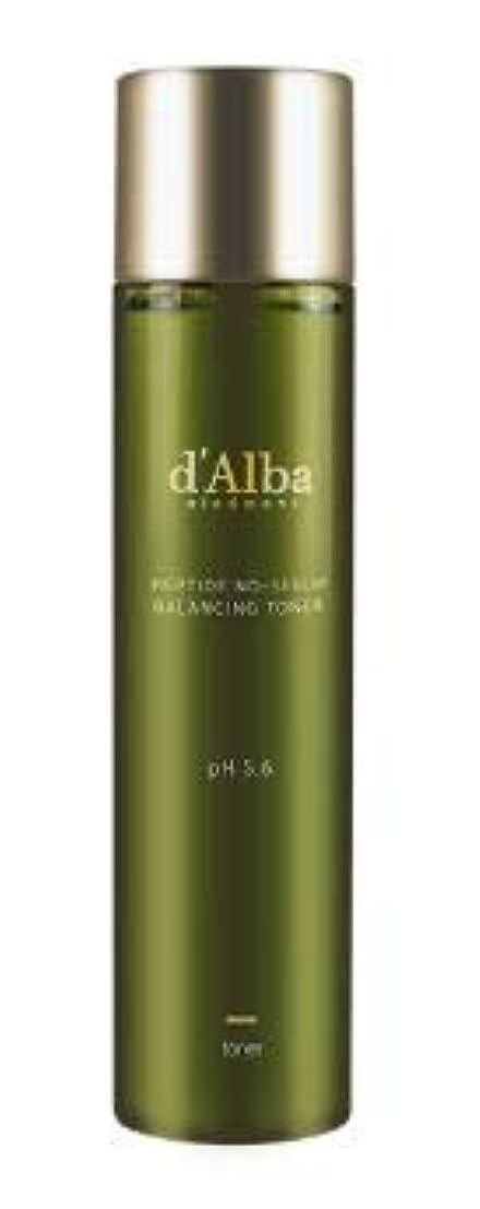 一緒に委任する安全性[dAlba] Peptide no sebum Balancing Toner 150ml / [ダルバ] ペプチド ノーシーバム バランシングトナー150ml [並行輸入品]