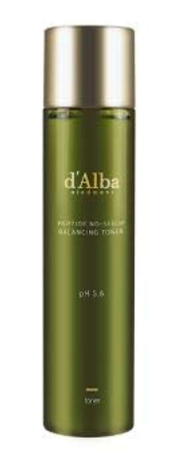 [dAlba] Peptide no sebum Balancing Toner 150ml / [ダルバ] ペプチド ノーシーバム バランシングトナー150ml [並行輸入品]