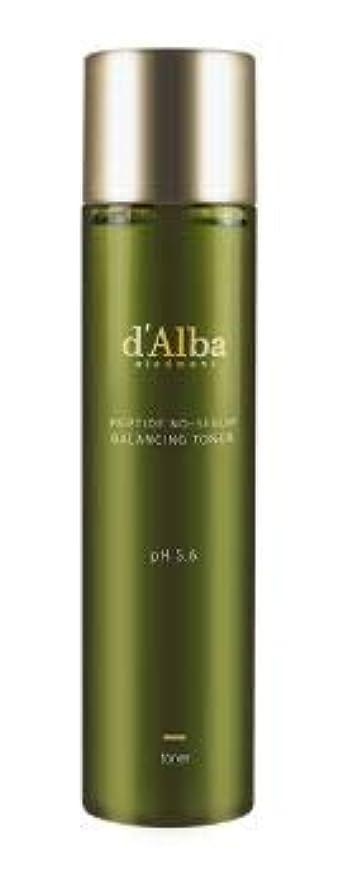 さておき適応適切な[dAlba] Peptide no sebum Balancing Toner 150ml / [ダルバ] ペプチド ノーシーバム バランシングトナー150ml [並行輸入品]