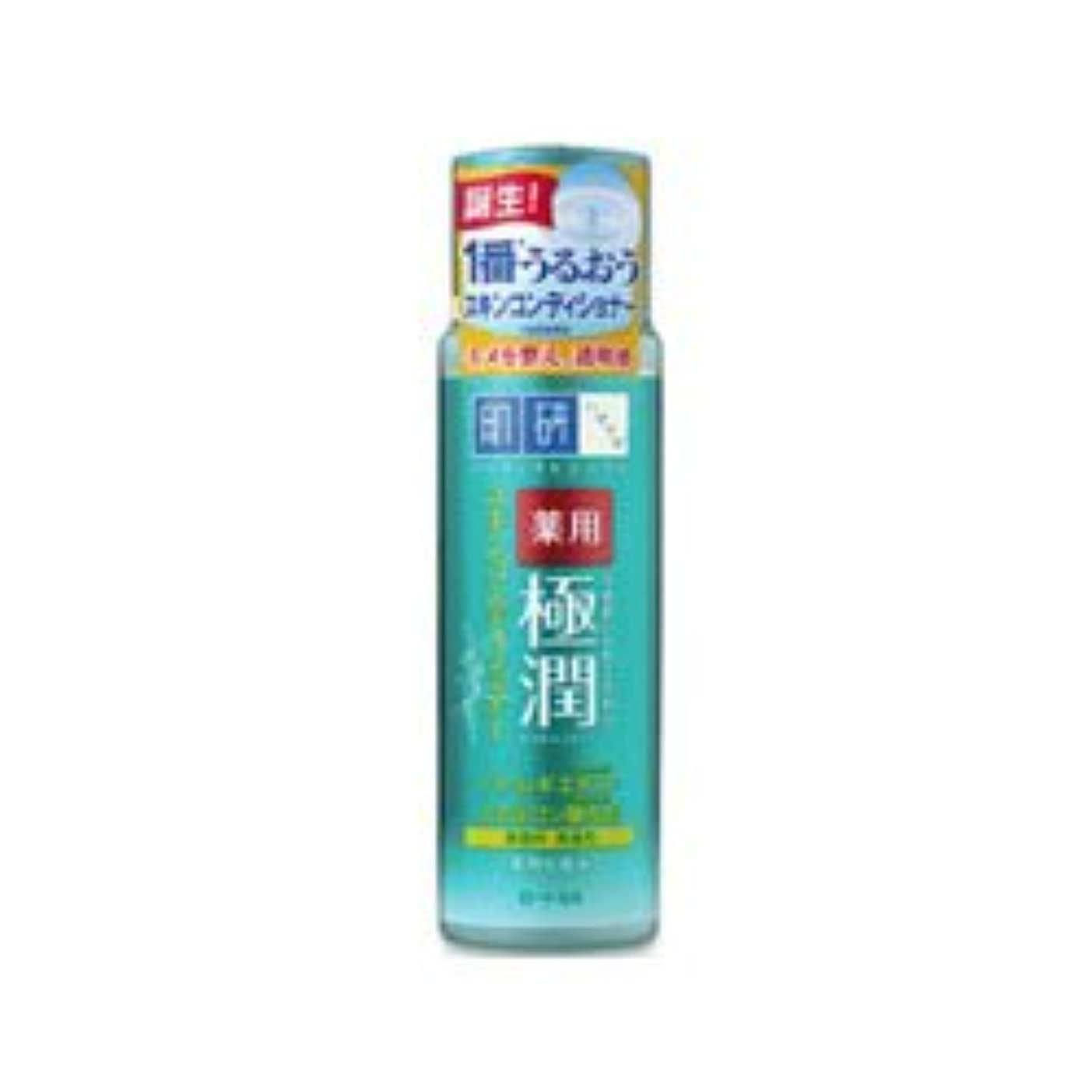 淡いダニどっち【ロート製薬】肌研 薬用極潤スキンコンディショナー 170ml(医薬部外品) ×3個セット