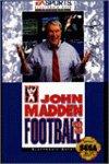 SEGA 海外ジェネシス 海外メガドライブソフト セガ JOHN MADDEN フットボール