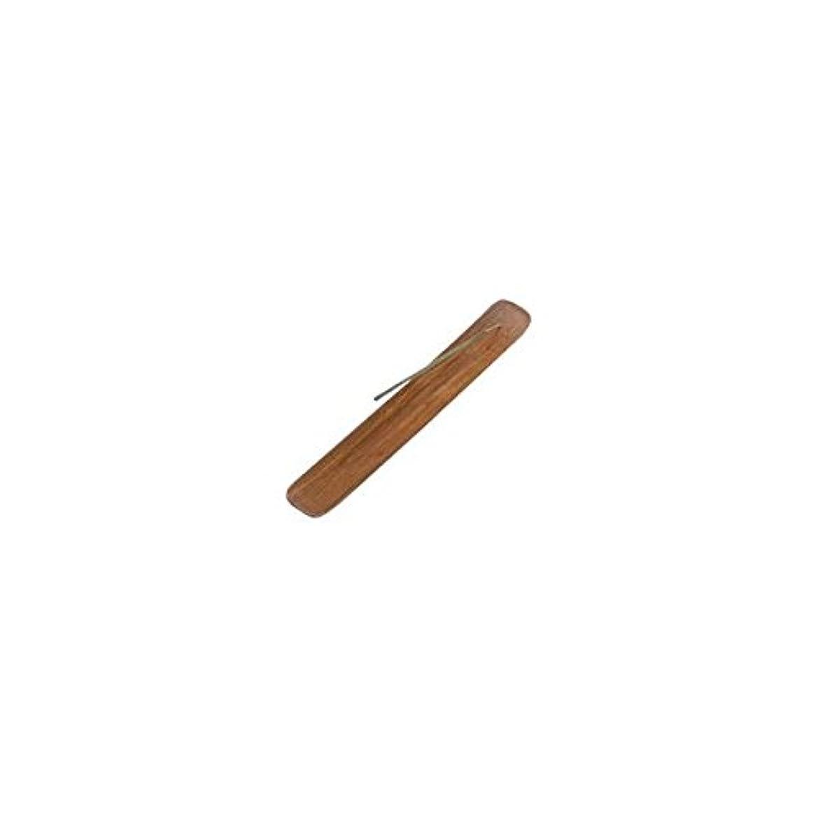国歌答えスムーズにIncense Burner Plain Wood - 1 pc