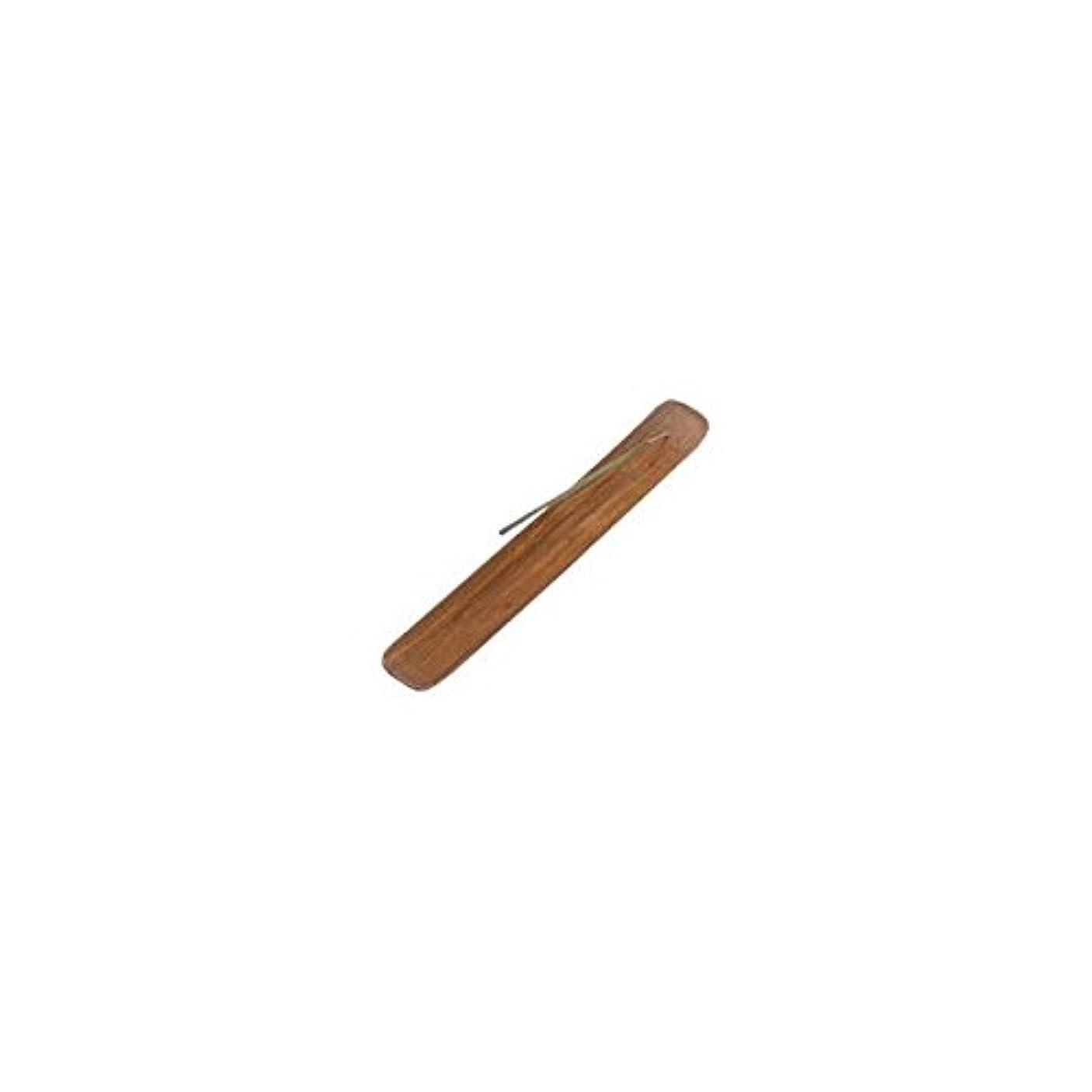 付属品把握表現Incense Burner Plain Wood - 1 pc