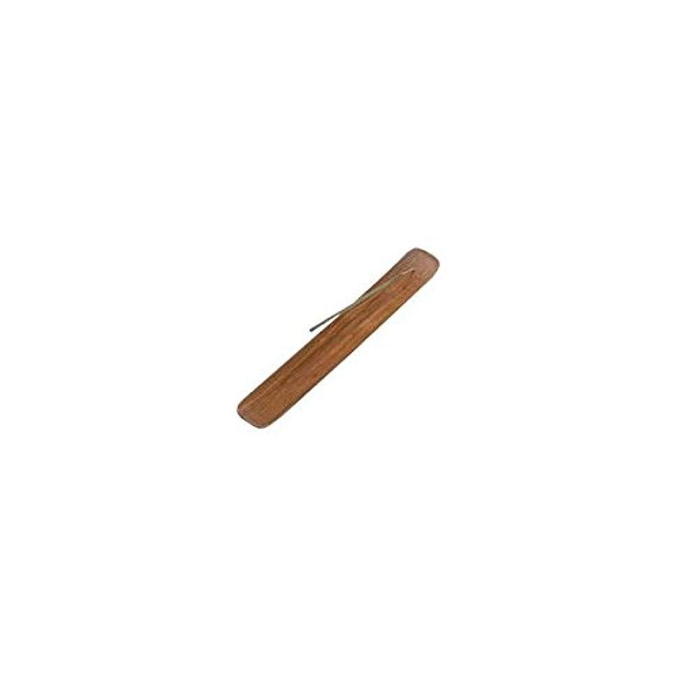枯渇する団結する罪Incense Burner Plain Wood - 1 pc
