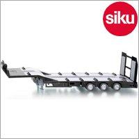 <ボーネルンド> Siku(ジク)社 輸入ミニカー2886 ファーマー 3車軸低床式セミトレーラー 1/32スケールトラクター専用パーツ