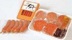 前沢牛オガタ 「前沢牛3点詰合」 ハンバーグ・ソーセージ・フランク詰合 -クール冷凍-