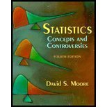 Cover of Statistics: Concepts and Controversies