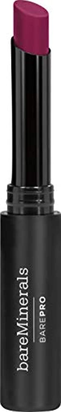 形容詞重大休みベアミネラル BarePro Longwear Lipstick - # Petunia 2g/0.07oz並行輸入品
