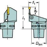 サンドビック コロマントキャプト コロカット1・2用カッティングユニット (1本) C5-RF123G10-35060B