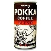 ポッカ ブレンドコーヒー シーサー缶 190g