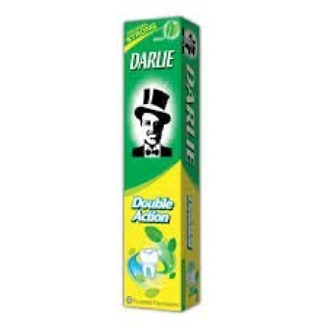 憂慮すべき追い出す個人的なDARLIE 歯磨き粉ジャンボ 250g-12 時間のためのより長く持続する新鮮な息を与える-効果的に経口細菌を減少させます